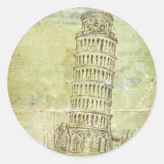 20 Wedding in Pisa Envelope Seal