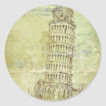 20 Wedding in Pisa Envelope Seal Stickers