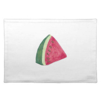 "20""x14"" TABLE PLACE MAT WATERMELON - PASTEL ART"