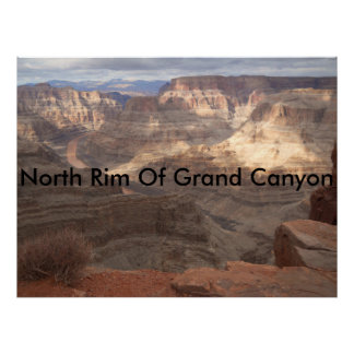 """20"""" x 16"""", North Rim Of Grand Canyon Poster"""