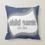 "20"" x 20"" Blue Swag Pillow  $81.95"