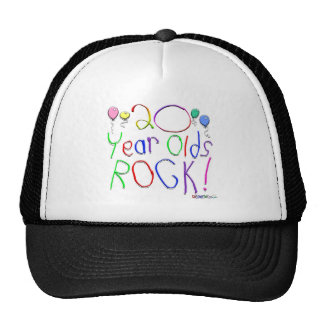 20 Year Olds Rock! Hat