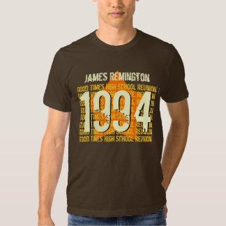 20 Year School Reunion 1994 or Any Year Shirt