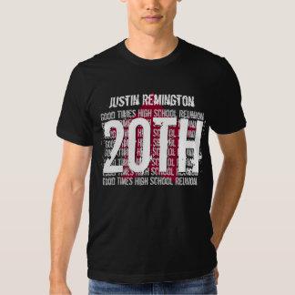 20 Year School Reunion Any Calendar Year STAR V18D T Shirt