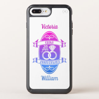 20 Year traditional China 20th wedding anniversary Speck iPhone Case