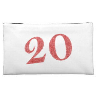 20 years anniversary cosmetic bags