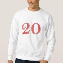 20 years anniversary sweatshirt