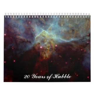 20 Years of Hubble Wall Calendars