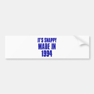 20 years Old birthday designs Bumper Sticker