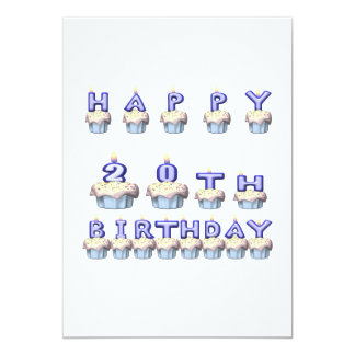 20 Years Old Card