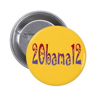 20bama12 pin redondo de 2 pulgadas