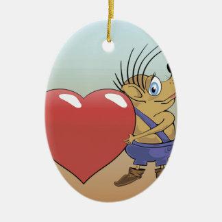 20hedgehog ceramic ornament