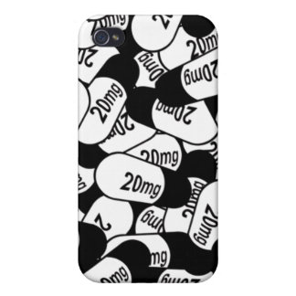 20mg Pills iPhone 4 iPhone 4 Cover