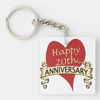 20th. Anniversar Keychain