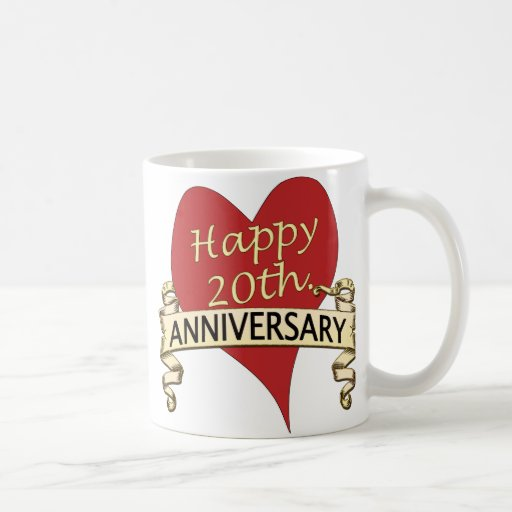 20th. Anniversar Coffee Mugs