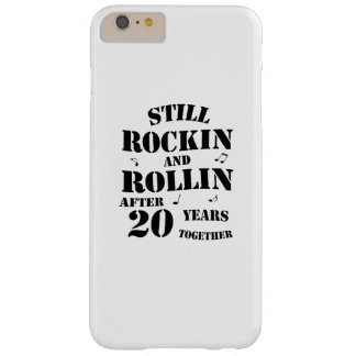20th Anniversary - 20 Years Couples Gift Barely There iPhone 6 Plus Case
