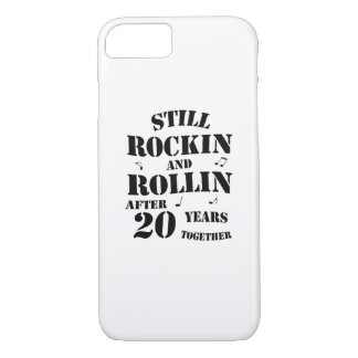 20th Anniversary - 20 Years Couples Gift iPhone 8/7 Case