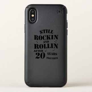 20th Anniversary - 20 Years Couples Gift Speck iPhone X Case