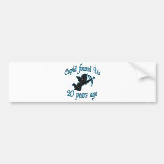 20th. Anniversary Bumper Sticker