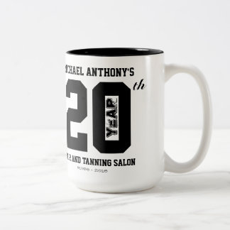 20th Anniversary Celebration Mug
