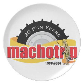 20th Anniversary Commemorative Plate