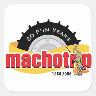 20th Anniversary Commemorative Stickers