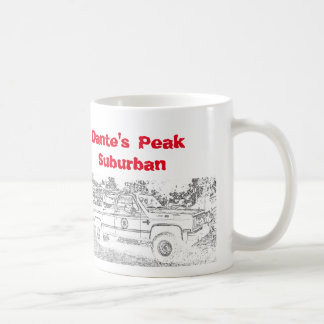 20th Anniversary Dante's Peak Coffee Mug