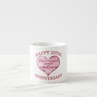 20th. Anniversary Espresso Cup