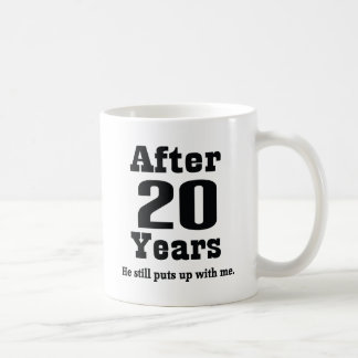 20th Anniversary (Funny) Coffee Mug