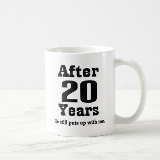 20th Anniversary (Funny) Classic White Coffee Mug