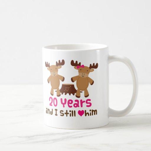 20th Anniversary Gift For Her Mug