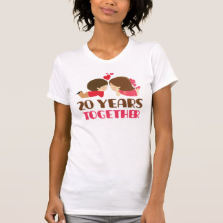 20th Anniversary Gift For Her Shirt
