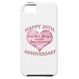 20th. Anniversary iPhone SE/5/5s Case