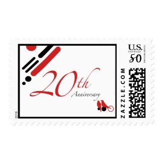 20th Anniversary (mod birds) Postage