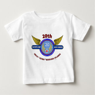 "20TH ARMY AIR FORCE ""ARMY AIR CORPS"" WW II BABY T-Shirt"