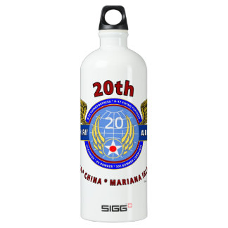 """20TH ARMY AIR FORCE """"ARMY AIR CORPS"""" WW II WATER BOTTLE"""