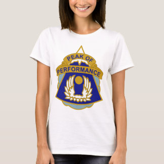 20th Aviation Battalion - Peak Of Performance T-Shirt