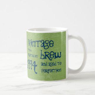 20th Birthday 1994 Vintage Brew or Any Year V20 Coffee Mug