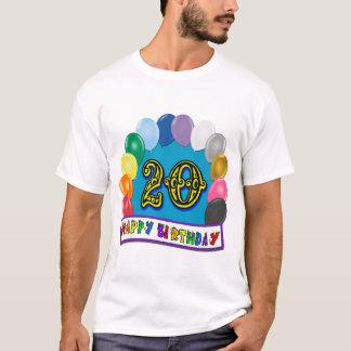 20th Birthday Ballon Arch T-Shirt