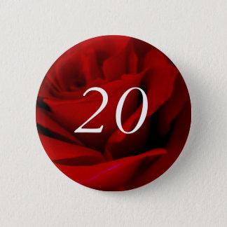 20th Birthday Button