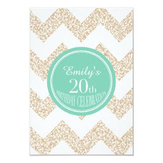 20th Birthday Celebration - Choose Color Card