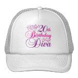 20th Birthday Diva Trucker Hat