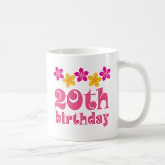 20th Birthday Gift Ideas Classic White Coffee Mug