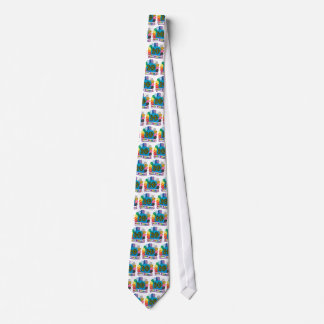20th Birthday Gifts with Assorted Balloons Design Tie