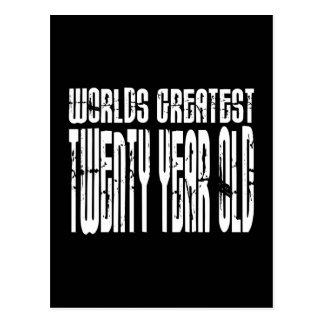 20th Birthdays Worlds Greatest Twenty Year Old Postcards