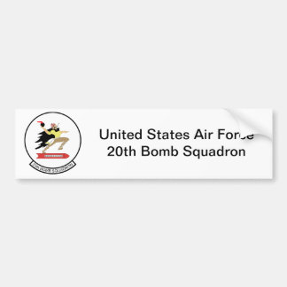 20th Bomb Squadron Bumper Sticker