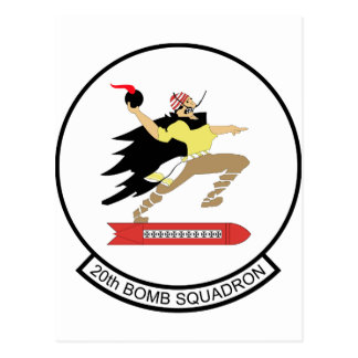 20th Bomb Squadron Postcard