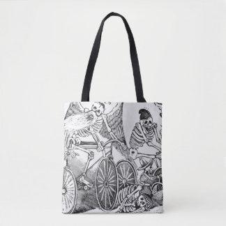 20th century Calavera Tote Bag