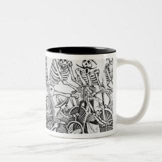 20th century Calavera Two-Tone Coffee Mug