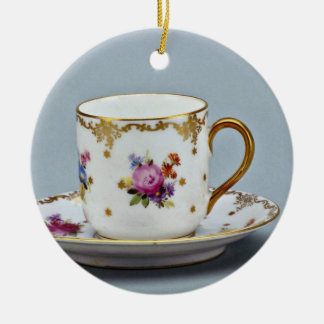 20th century coffee cup and saucer, Bavaria, Germa Ornament